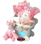 Sugar and Spice Baby Girl Gift Basket