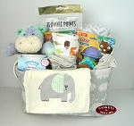Baby Boy Welcome Gift Tote