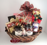 Best Wishes Christmas Gift Basket