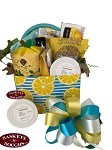 Lemons Make Me Happy Gift Basket