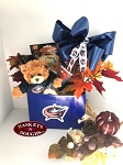 Columbus BlueJackets Hockey Gift Basket Box