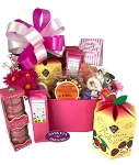 Chocolate Raspberry Deluxe Gift Basket