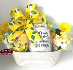Deluxe Lemon Garden Party GiftBasket