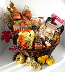 Farm House Apple and Pumpkin Harvest Gift Basket