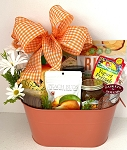Farm House Peach Gift Basket