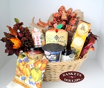 Farm House Pumpkin Harvest Gift Basket