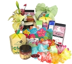 Island Delight Stay-Cation Gift Basket Box