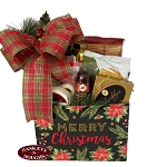 Merry Christmas Gift Basket Box