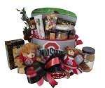 OSU 6 Pack Cooler Gift Basket