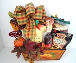 Orange Pumpkin Planter Gift Box
