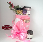 Pink Cooler Golf Bag Gift Basket