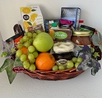 Survival Fruit and Snacks Gift Basket
