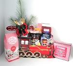 Vintage Train Holiday Gift Box