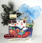 You Sleigh Me Gift Basket Box