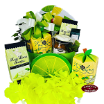 A Slice Of Lime Gift Basket