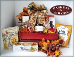 Autumn Gourmet Country Gift Crate