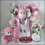 Little Sweetheart Baby Girl Gift Basket