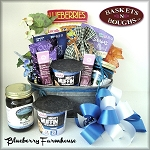 Blueberry Farmhouse Gift Basket