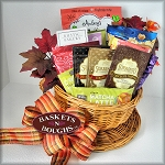 Coffee Gift Basket with Snacks