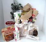 Farm House Winter-Let it Snow Gift Basket - Large Size