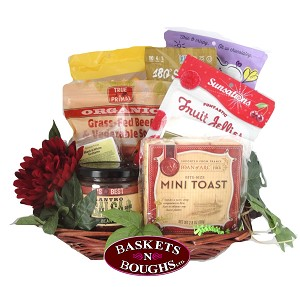 Farm House Gourmet Soup and Snacks Gift Basket